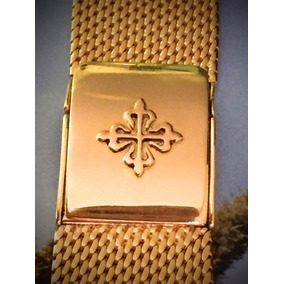 Pulseira Para Relógio Em Ouro Maciço
