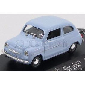 Fiat 600 1963 Fitito Bolita Solido 1:43 Solo Envios
