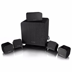 Kit Caixas Home Theater 5.1 Wharfedale Ms-100 Hcp - Preto -