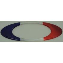 Adesivos Oakley França Resinados Bandeira Paises 12x4cm