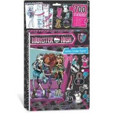 Album Monster High De Adesivos Estilista Da Moda
