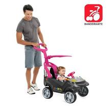 Carrinho De Passeio Smart Baby Comfort Plus Rosa Bandeirante