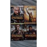 Dvd Original De Spartacus Temporada 1-4