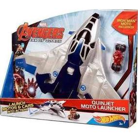 Hotwheels Vingadores Ultron Nave E Moto