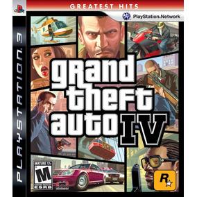 Grand Theft Auto Iv - Ps3 - Mídia Física Lacrado - Nf