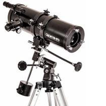 Telescópio Refletor Greika Equatorial Newtoniano 1400x150 Mm