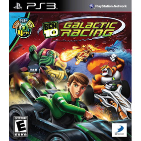 Ben 10 Galactic Racing Kart Ps3 Original Lacrado Mídia Físic
