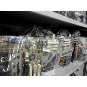 Kit Placa Mãe Com Proc.+cooler+ Espelho+ 512 Memória Soq 478