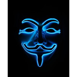 Mascara Anonymous V For Vendetta Dj Rave - Version Led