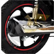 Friso Adesivo Refletivo Curvo Moto Carro - Orbital + Brindes