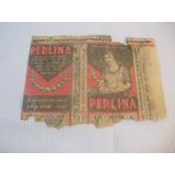 Perlas Detergentes. Perlina. Envoltorio Antiguo Salitrera. C