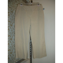 Pantalon Capri Casual Camel Mossimo Dama 8-34 Nuevo