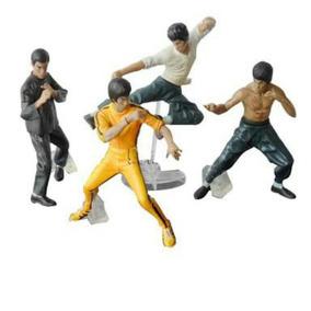 Coleção Bonecos Bruce Lee Kit 4 Unidades Pronta Entrega