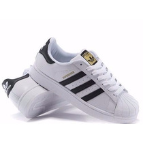 Tênis Adidas Superstar Unissex Na Caixa Lindos! Promoção!