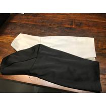 Vestido Carmim Alta Costura/festa, Preto E Branco