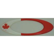 Adesivos Oakley Canada Resinados Bandeira Paises 12x4cm