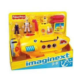 Submarino Aventura Imaginext Fisher Price Mattel