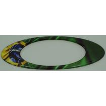 Adesivos Oakley Brasil Resinados Bandeira Paises 12x4cm