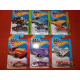 Hot Wheels Lote De 6 Carritos (a) Envio Gratis!!! Kikkoman65