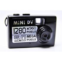 Filmadora Mini Dv Camera Espia 5.0 Mp Detecção De Movimento