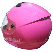 Oferta Casco Okinoi Integral Rosa Dama Mujer Solo Fas Motos