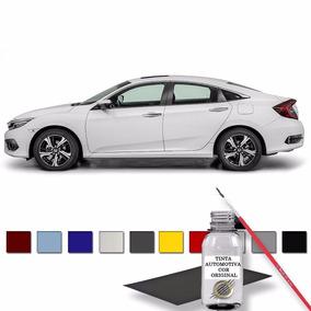 Retoque Automotivo Para Riscos Branco Estelar - Honda