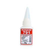 Cola Cianoacrilato 20 Gramas Promabond 791 Viscosidade Baixa