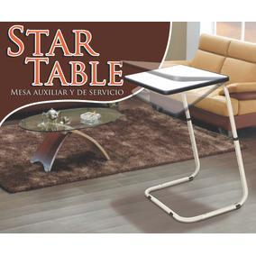 Mesa, Auxiliar Y De Servicio. Star Table Multi Usos