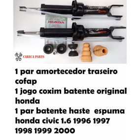 Par Amortecedor Traseiro Completo Honda Civic 96 97 98 99 00