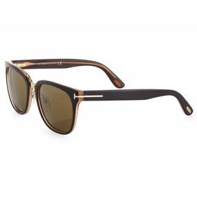 Óculos De Sol Tom Ford Rock Tf 290 50j Marrom E Creme