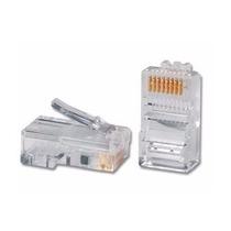 Rj45 Cat 5e Conector Cable Red Utp 100 Pzs Cat5e