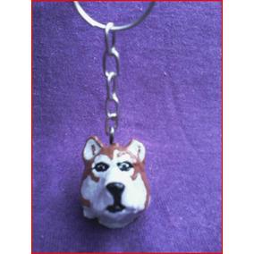 Lindo Chaveiro De Husky Siberiano - Cachorro Cães De Raça