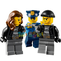 Lego City High Speed Police Chase Moto Auto Policia 60042