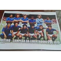 Poster Do Cruzeiro - Campeão Da Libertadores 1976