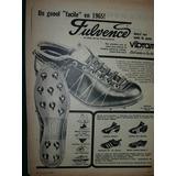Clipping Publicidad Futbol Botines Fulvence Gol Facile 1965