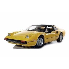 Miniatura Ferrari 308 Gts Amarelo Hot Wheels Elite 1/18