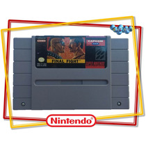 Final Fight 1 Original Americano Super Nintendo