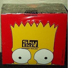 Rarísima Caja Simpsons Tarjetas 1993 Wow ( O)(o )!