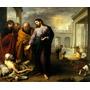 Jesus Cura Paralítico Milagre 1670 Murillo Grande Tela Repro
