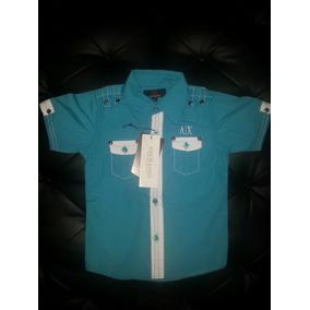 Camisas Armani Exchange Ax Niños