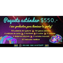 Paquete Batucada Estandar, Batucada, Fiestas, Neon, Luminosa
