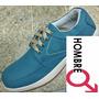 Calzado Masculino Hombre Color Azul Moda Bogota Envio Gratis