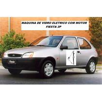 Maquina Vidro Eletrico + Motor Fiesta Street 2p Le Ou Ld