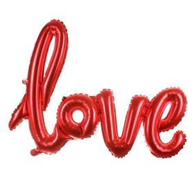 Globo Love Amor Metalico Aire Helio 16516 / Fernapet