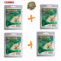 Anti Pulgas Frontline Plus Cães Combo C/4 Até 10 Kg Merial