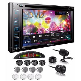 Central Multimídia Dvd Pioneer Câmera Ré E Sensor Estacionam