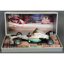 F1 Michael Schumacher Mercedes W03 Last Race Gp Brasil 2012