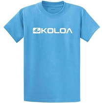 Logo Koloa Surf Side Pesado Camisetas De Algodón En Big Regu
