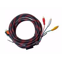 Cable Hdmi A Rca De Nylon Reforzado.