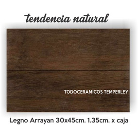 Imitación Simil Madera Piso/pared 30x45 1º Cal. Temperley